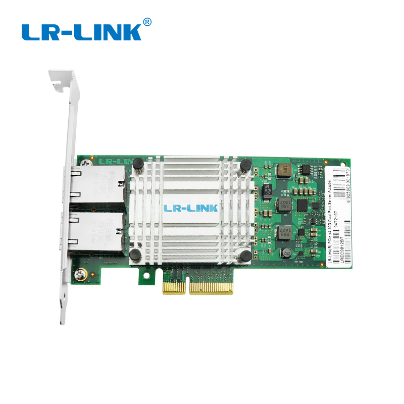 PCIe 3 0 x4 10G Dual Copper Server Adapter-Intel X550AT2