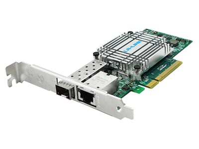 LR-LINK Patented Product 10G Fiber/ Copper/ Media converter Combo Card Released