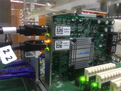 LR-LINK PoE card Machine Vision Testing Platform