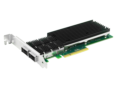 The first Dual QSFP+ Server Adapter Successfully in China