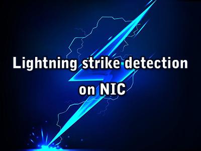 LR-LINK | Lightning strike detection on NIC