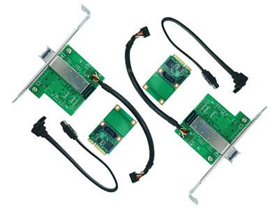 Small Size,Big Energy: Mini PCIe Gigabit Fiber Ethernet Card Structure has Better Performance.