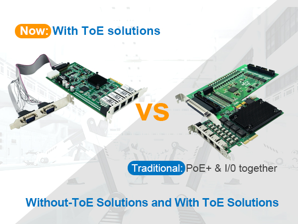 The Practical Application of Smart Gigabit PoE+ I/O Frame Grabber